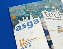Flyer Design 17x11 Gate fold brochure asgaetch