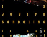 Hello, My Name is Joseph Schooling — Print Ad