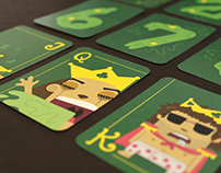 """""""Royal Party"""" - Deck of Cards"""