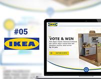 Vote & Win - IKEA