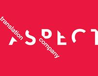 Aspect. Logo for translation company