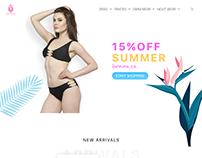 Inner Strings - Lingerie Brand Website Design