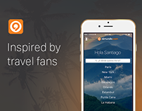 Almundo.com travel app