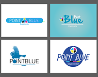 Point blue Logo  Print Shop
