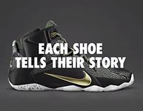 NIKEiD LeBron 12 Launch Campaign #iDYourHero