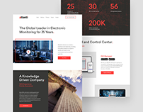 Electric Monitoring Website Design