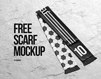 Free Scarf Mockup