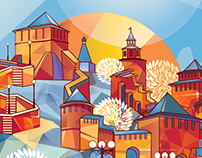 Illustration: Nizhny Novgorod