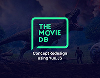 The Movie DB - Vue JS concept redesign