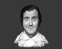 Andy Kaufman - Digital Illustration