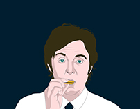 Paul McCartney Illustration