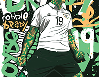 Robbie Brady Illustration