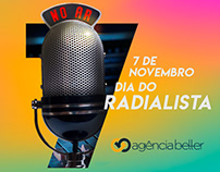 Social Media para Agência Better - dia do Radialista