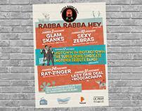 """Cartel """"Rabba Rabba Hey"""" (Programación mensual)"""
