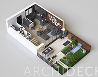 Soffia Development 3D Floor Plans