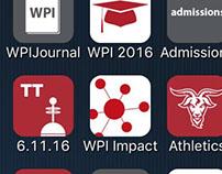 WPI App Iconography