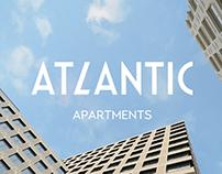Брендирование страницы для Atlantic Apartments.