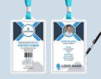 Office ID Card Design (FREE PSD)