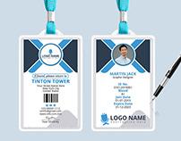 Office ID Card Design (FREE PSD)