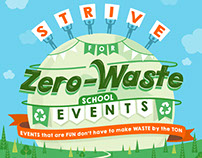 Strive for Zero-Waste School Events [Infographic]
