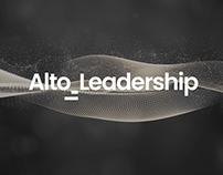 Alto Leadership   Brand, Papeterie & Site Internet