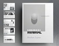 Minimal Brochure Layout