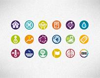 Iconografia Objetivos de Desenvolvimento Sustentável
