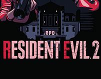 Resident Evil 2 Remake Poster
