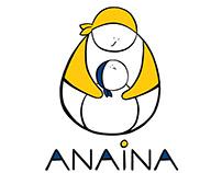 Anaina. Stimulation centre. Logo