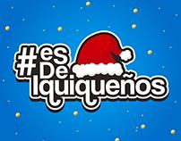 Navidad/Perfil Esdeiquiqueños (Redes sociales)