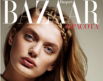 Bregje Heinen / Harper's Bazaar / Braided Up