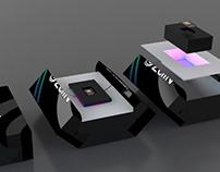 Zain Premium Sim Card Packaging Design Concept