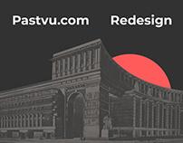 Pastvu.com Redesign Concept