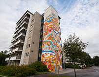 UPEA Mural in Finland 🇫🇮