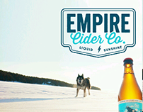 Empire Cider Branding