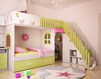 Детская комната, СПб, 2014 г.