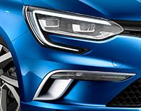Renault Megane IV 2016 - Full CGI