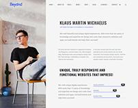 About Me - Beyond WordPress Theme by Visualmodo