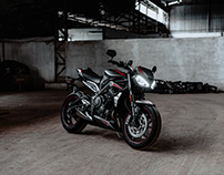 2020 Triumph Street Triple RS / By Sourav Mishra.