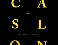 Caslon, por William Caslon