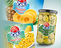 Zaki - Packaging Design