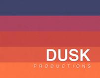 Dusk Productions Branding