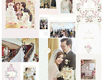 Wedding Day Photobook Design , photo by HOP