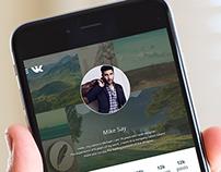 Redesign Website for Mobile Apps Vk