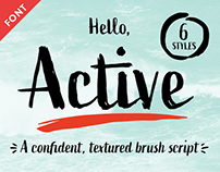 Active Font Family