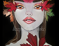 Autumn Queen Painting