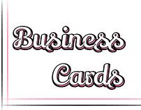 Business Card Desgins