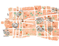The Map illustrations
