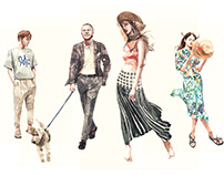 Fashion Illustration series [The SCRAT]