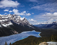 West Canada, British Columbia & Alberta
